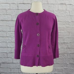 Cheryl Nash Windridge Cardigan Sweater XL